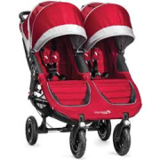 BABY JOGGER city mini GT Double - Crimson/Gray 2015